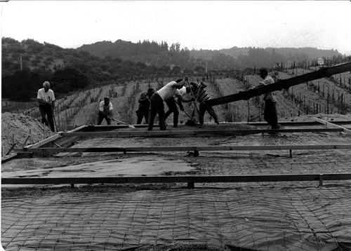 Wineryconcretefoundationpour
